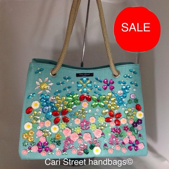 SUMMER SALE Cari Street handbags Tote Handbag by ...