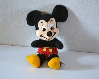 Vintage MICKEY Mouse plush / Walt Disney Production manufactured by California stuffed toys