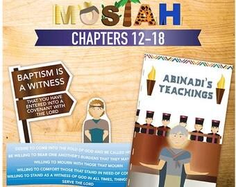 Book of Mormon Lessons: Mosiah 12-18