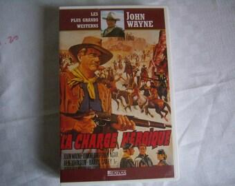 Load heroic (VHS), Western with John Wayne, French-language