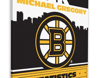 Boston sports canvas etsy negle Image collections