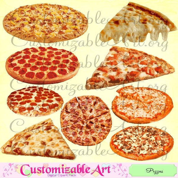 cheese pizza clipart free - photo #47