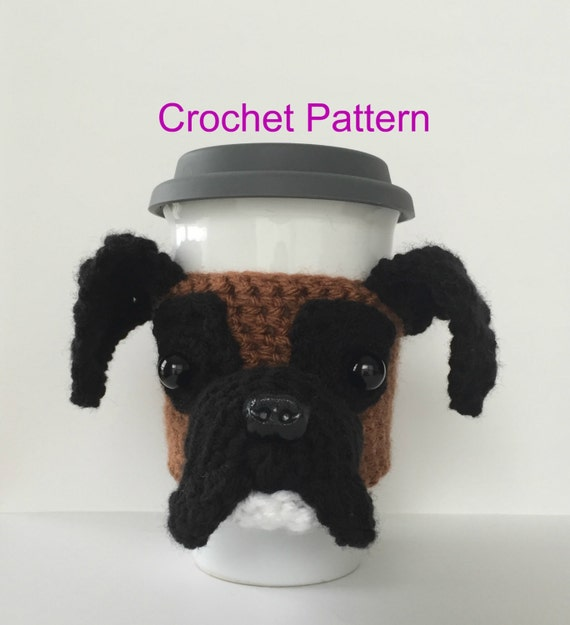 Amigurumi Boxer Dog : Boxer Pattern Crochet Dog Pattern Amigurumi Dog by ...