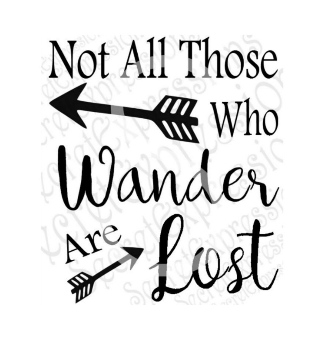 Not All Those Who Wander Are Lost Svg Religious Svg Wander