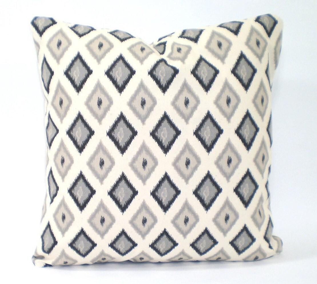 Black Tan Cream Decorative Throw Pillow Covers Cushions