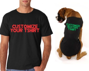 Best Friend Shirt Best Friend Matching Best Friend Shirts: dog clothes design your own