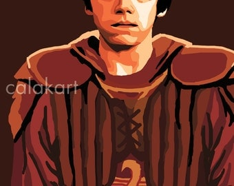 HARRY POTTER Ron Weasley - Digital Drawing - 11x14 Print
