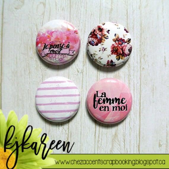 "Badge 1"" - Femme"