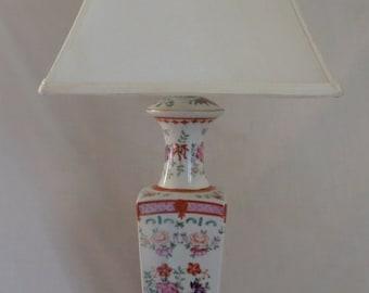 19th C Chinese Urn Lamp