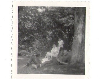 Vintage Photo of Family, Weird photo, vintage photograph, found photo_90