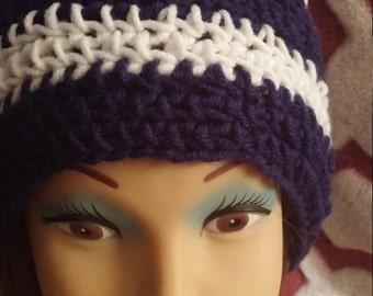 American Bald Eagle Crochet Beanie, Crochet Eagle Beanie, Crochet Beanie for Men, Eagle Beanie,