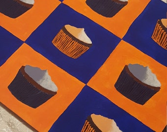 Symmetric Cupcakes- Original Piece