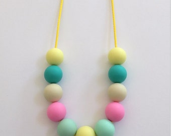 PASTEL adults necklace