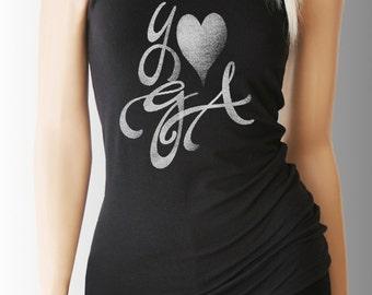 Yoga. Yoga Tank. Yoga Shirt. Yoga Clothes. Yoga Clothing. Yoga Top. Yoga Tank Top. Yoga T Shirt. Yoga TShirt. Namaste Shirt. Lotus Shirt.
