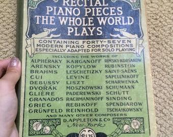 RARE! Vintage piano sheet music