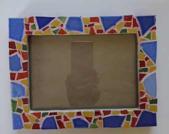 Mosaic picture frame nr. 299