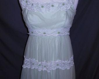 Vintage 1970s Nadine Long Dress