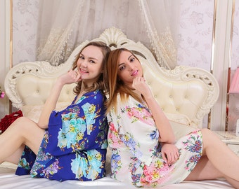 I04008 Milk Robe summer robe long bathrobes for women long robes mens hooded bathrobes satin robes for women robe for women night gown