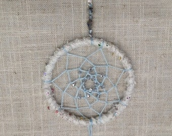 CLEARANCE!!  Winter Snowflake Dreamcatcher