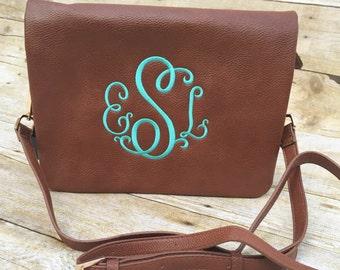 Monogrammed Purse, Monogrammed Crossbody, Personalized Handbag, Womens Gift, Tote, Crossbody, Monogrammed Bag, Christmas Gift