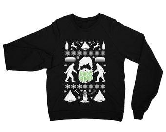 Yeti Ugly Christmas Sweater, Yukons Beard, Funny Gift for Him