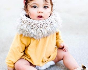 Girls scarf,scarves,baby girls clothing,girls,kids winter scarf,knit scarf,faux fur,crochet,accessories,trendy clothes,baby girls clothes,