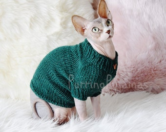 FREE SHIPPING, cat sweater, sweater for cat, sweater for sphynx, cat clothes, clothes for cat, sphynx clothes, clothes for sphynx