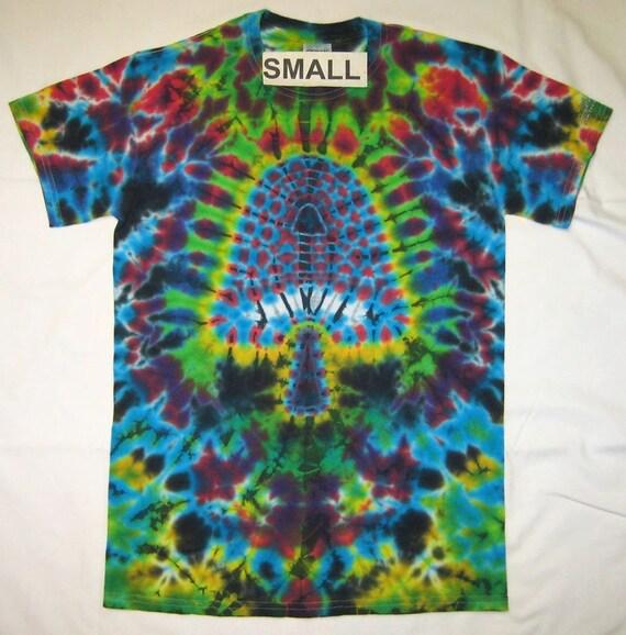 Free shipping handmade mushroom tie dye shirt for How to make tie dye shirts at home