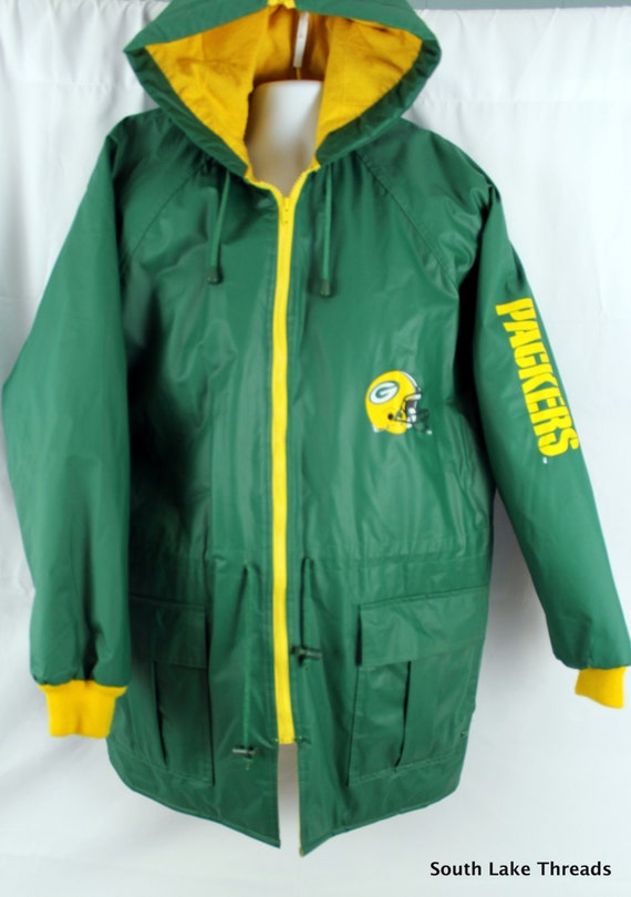 Vintage Green Bay Packers NFL Gameday Authentic Winter Jacket