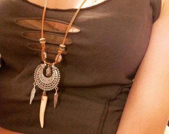 Sautoir - Ethnik, Tribal, Nomad -.