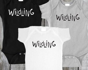 Game of Thrones Baby Onesie, Wildling Onesie, Wildling Shirt, Game of Thrones Shirt