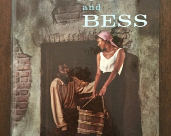 The Samuel Goldwyn Motion Picture Production of Porgy and Bess, 1959 vintage book