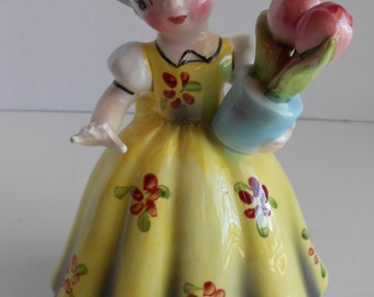 "Vintage ARNART ""Gretchen The Little Dutch Maid"" Figurine"