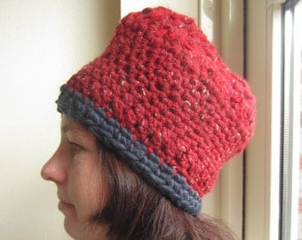Red and blue Beany / Muts