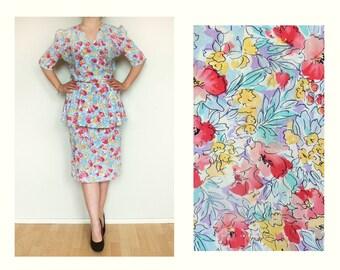 Floral dress summer , Women dress , Romantic dress , Boho dress , sun dress women