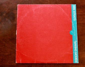 1980 Dire Straits Making Movies Album with Inner Sleeve/ BSK 3480/ Warner Bros. Records