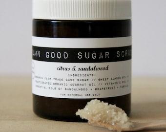 Damn Good Sugar Scrub // Citrus + Sandalwood