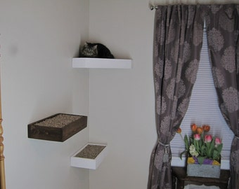 1 Floating Cat Shelf