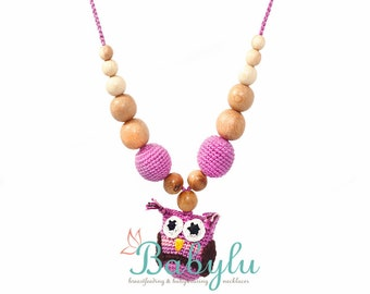 Little Owlie Nursing/Teething Necklace