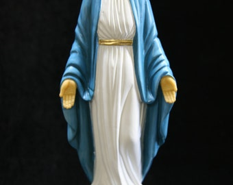 """12"""" Our Lady of Grace Virgin Mary Madonna Blessed Mother Catholic Religious Statue Sculpture VIttoria Collection Made in Italy"""