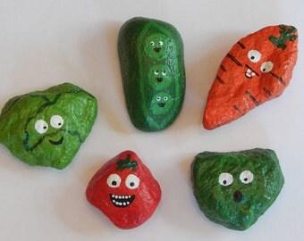 Character Veggie Garden Markers (Set of 5)