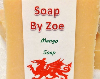 Traditional & Natural Handmade Cold Process Mango Artisan Soap