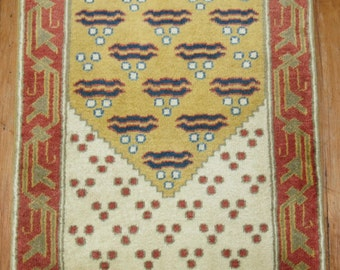 Turkish Prayer Rug 1'11''x3'