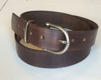 Indiana Jones Gun Belt (Full Grain Leather)