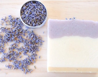 All natural Goats milk and Lavender soap