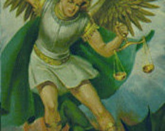 St. Michael Protection the Archangle Altar Candle Service for Protection