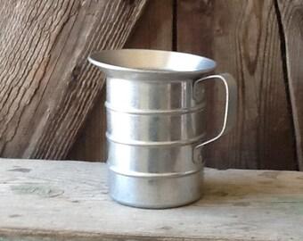 Aluminum pitcher