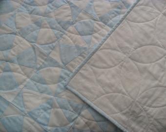 Blue baby quilt | Etsy : blue baby quilt - Adamdwight.com