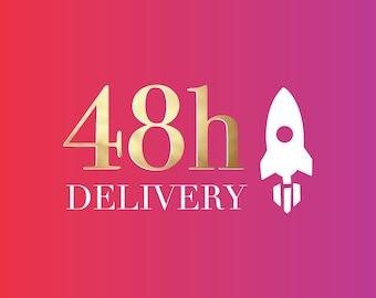 48h Delivery To USA/Canada/Australia