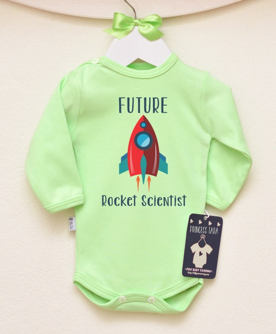 Science Baby Gifts Australia : Future rocket scientist baby shirt science by